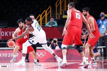 بسکتبال ایران و آمریکا