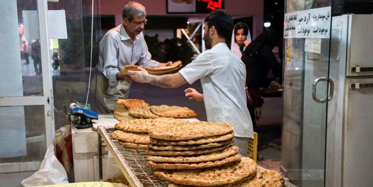 اخبار کالاهای اساسی: نرخ جدید رسمی نان اعلام شد|قیمت نان گران شد