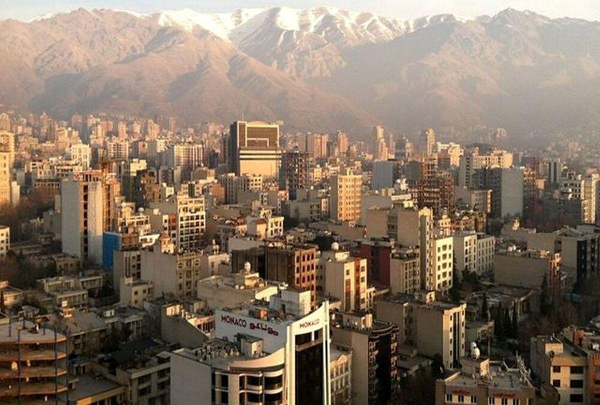 قیمت آپارتمان در مرکز شهر تهران|جدول