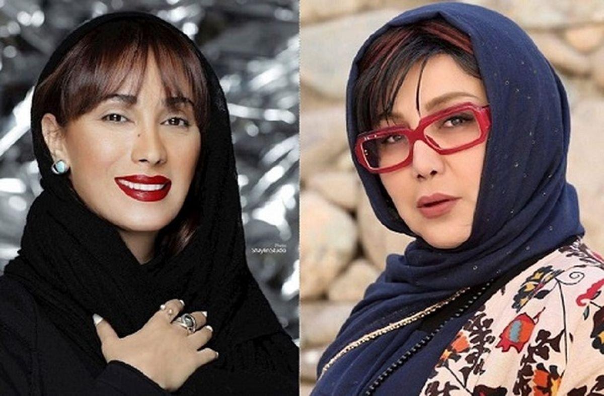 جنگ طوفانی سحر زکریا و بهنوش بختیاری بر سر مهران مدیری! + فیلم