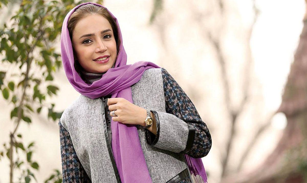 شبنم قلی خانی به استقبال نوروز رفت!+تصاویر دیده نشده