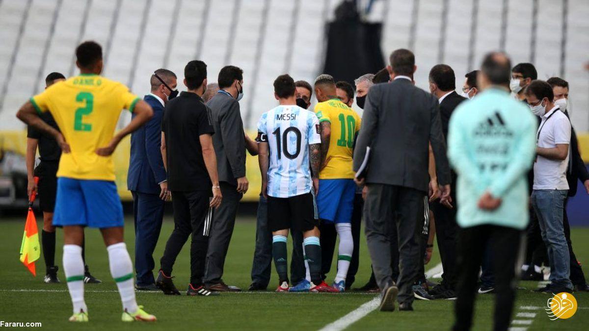 دروغ کرونایی بازی آرژانتین و برزیل را لغو کرد