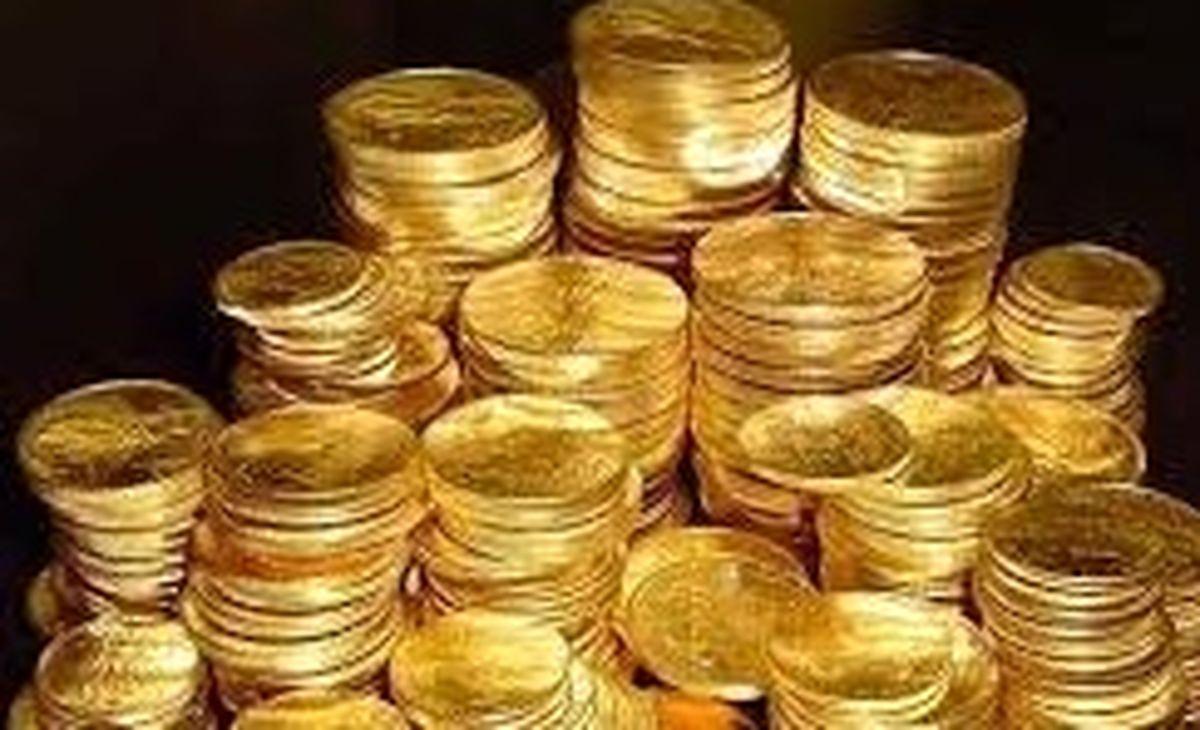 ادامه ریزش قیمت سکه در بازار+آخرین نرخ بازار