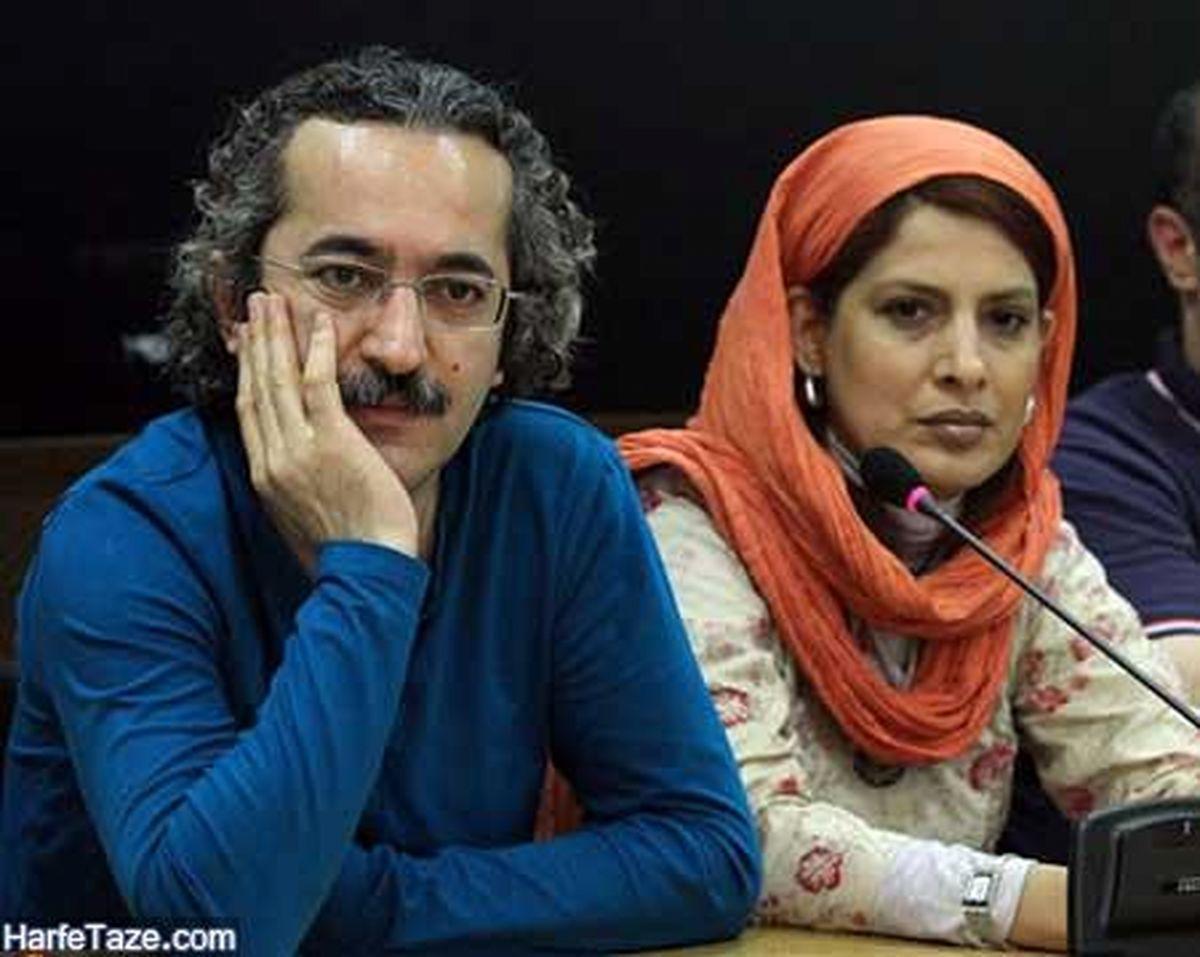 ویدیئو محمد یعقوبی با همسرش در مبارزه با سرطان +عکس