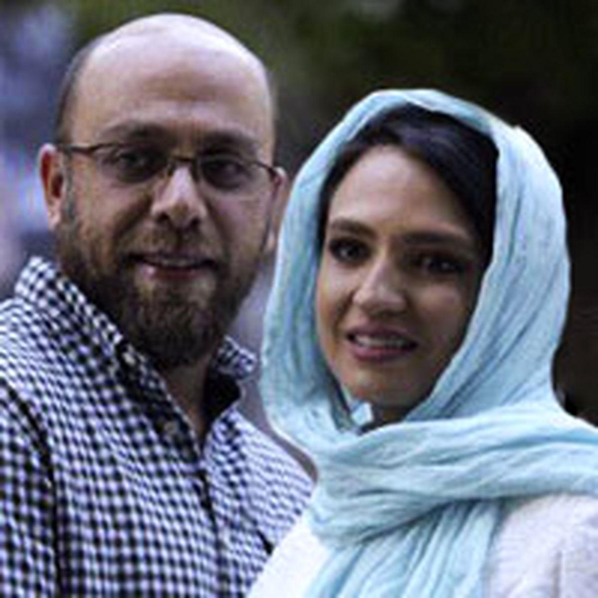 گلاره عباسی در اکران خصوصی با همراهی همسرش دیده شد +عکس