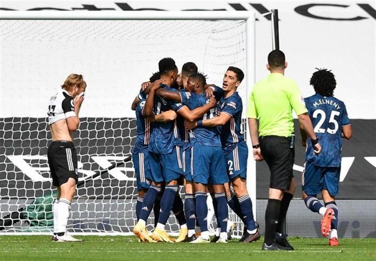 پیروزی قاطع آرسنال در بازی افتتاحیه