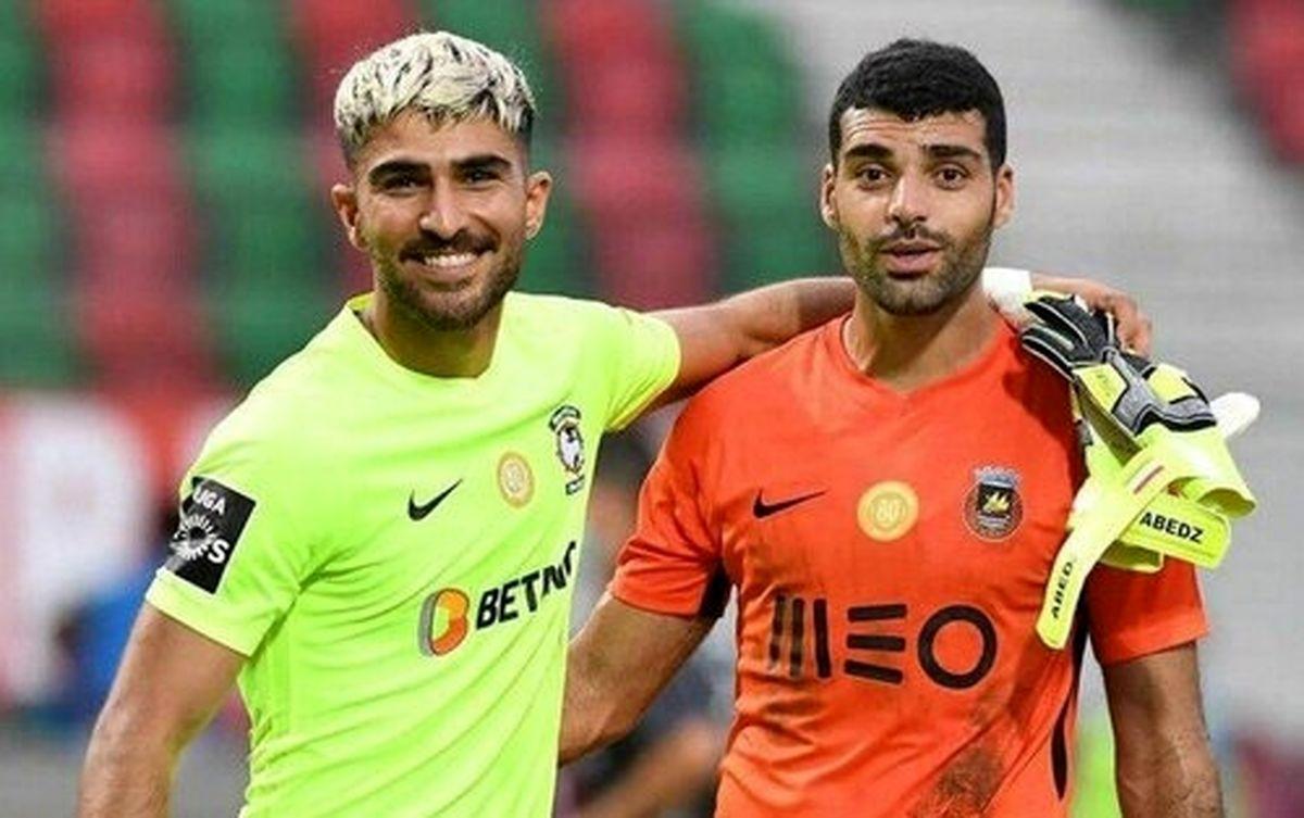 تقابل طارمی و عابدزاده در پرتغال+عکس دیده نشده