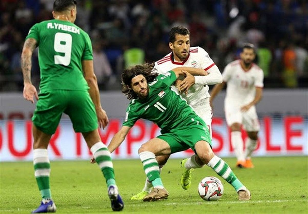 تاریخچه آماری بازی های ایران و عراق