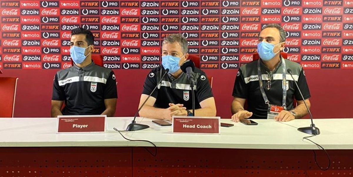 اسکوچیچ: تیم آماده بازی با بحرین است؛بحرین را مثل تیم خودم می شناسم