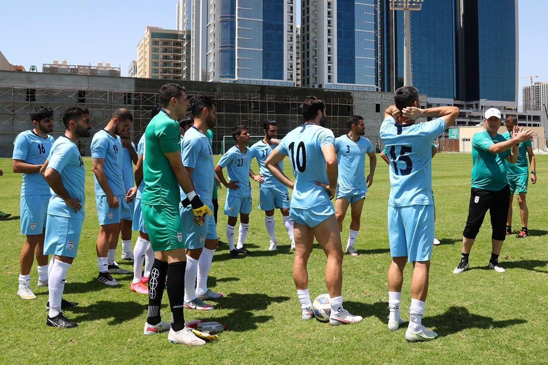 تصویر از تصاویر ریکاوری تیم ملی فوتبال؛ سخن اختصاصی اسکوچیچ با مهاجمان