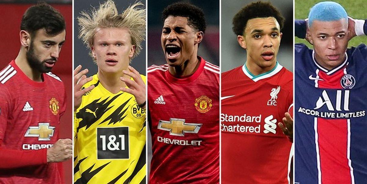 گرانترین بازیکنان فوتبال جهان|قیمت