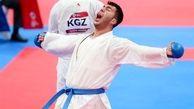 مدال تاریخی کاراته قطعی شد