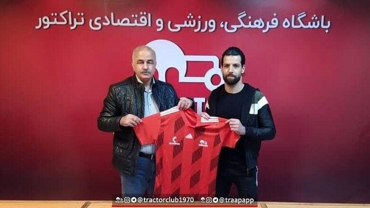 قرارداد محمد عباسزاده با تراکتور نهایی شد