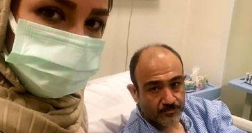 اولین ویدئو از سخنان مهران غفوریان در بخش قلب بیمارستان