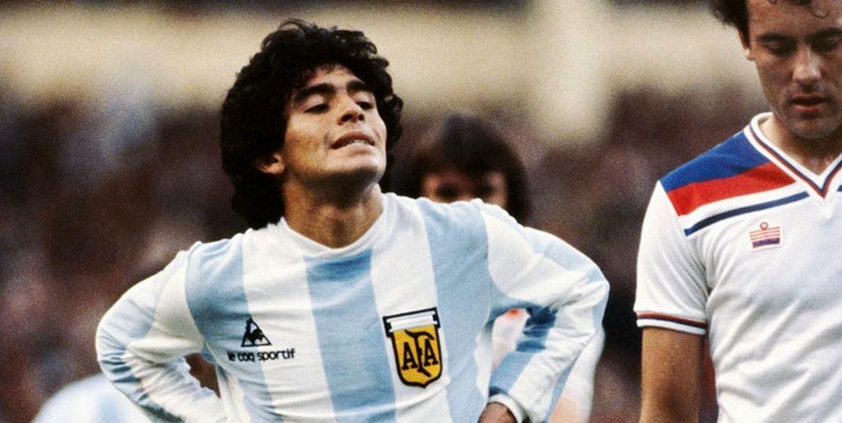 روح مارادونا با بارسا به عربستان می آید
