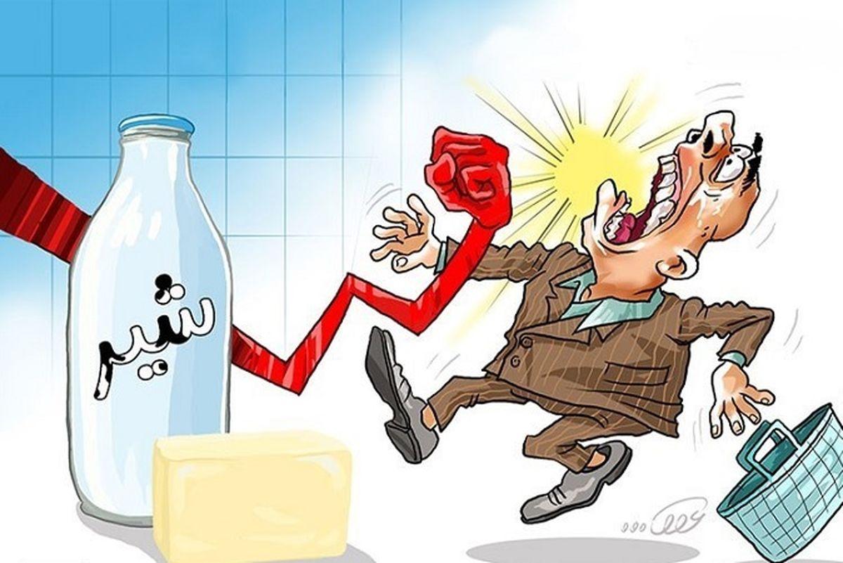 قیمت شیر باز هم گران شد! / افزایش 6 هزارتومانی قیمت شیر + جزئیات