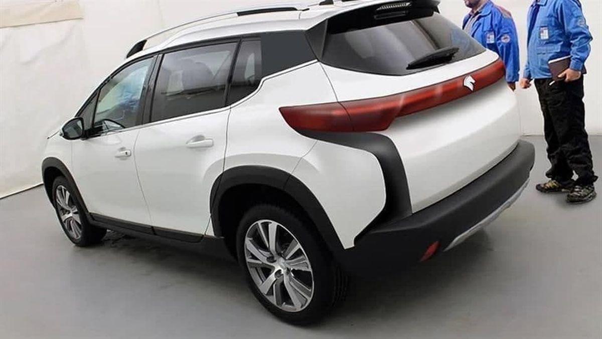 k125 جدیدترین شاسی بلند ایران خودرو،عکس
