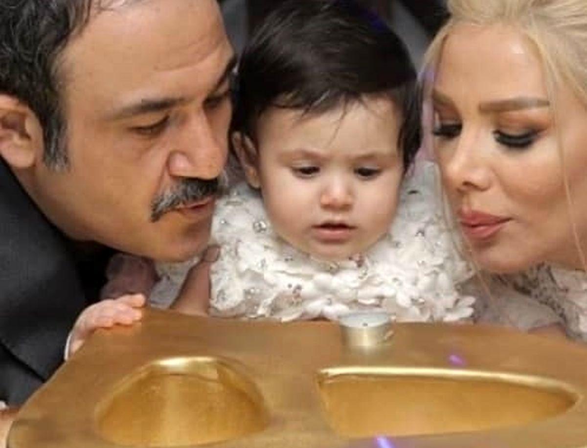 عکس پدرانه مهران غفوریان و دخترش+ عکس