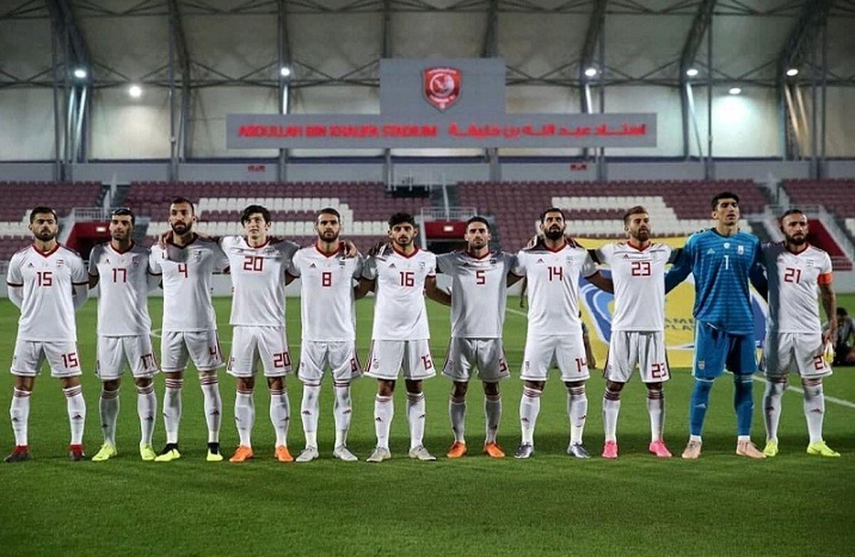 ترکیب تیم ملی فوتبال ایران برابر عراق | اسامی بازیکنان