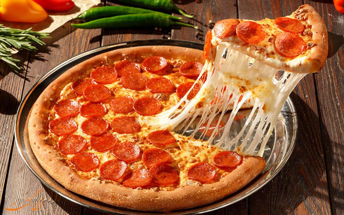 راز سرقت میلیاردی با چند فاکتور پیتزا