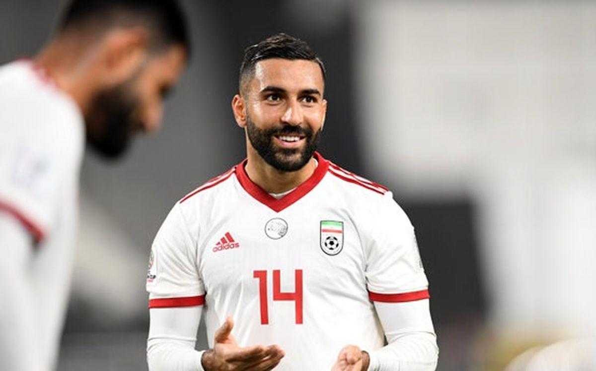 سامان قدوس اردوی تیم ملی را از دست داد