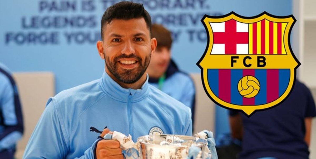 توافق آگوئرو با بارسلونا به خاطر مسی
