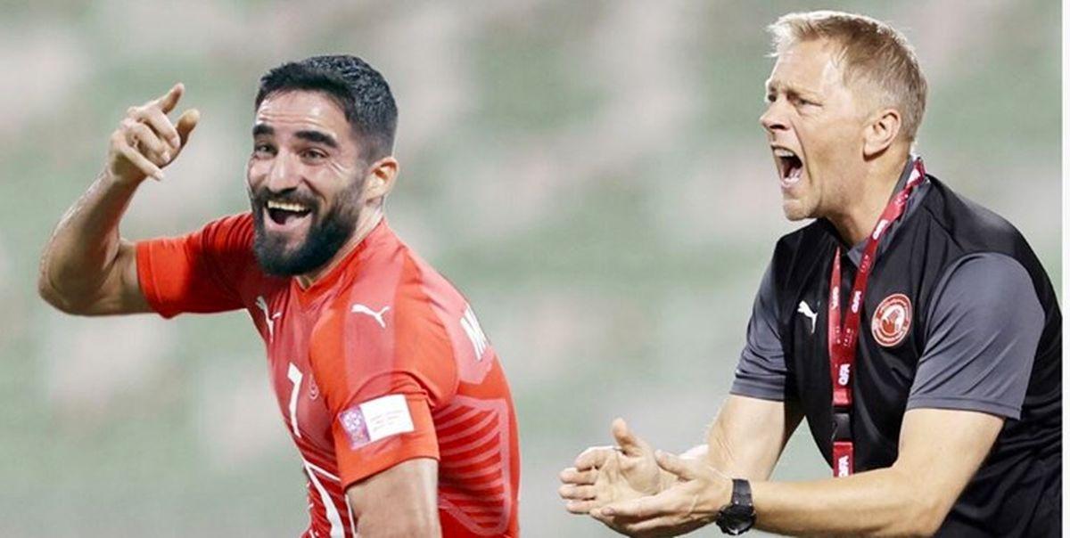 مربی جدید مهرداد محمدی در العربی
