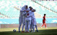 گاف عجیب سرمربی تیم ملی فوتبال بانوان