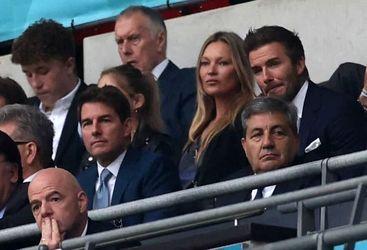 بوریس جانسون در فینال یورو 2020
