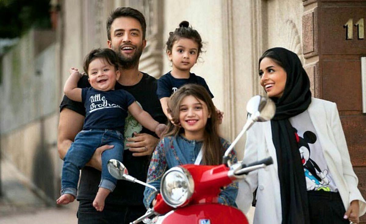 تشویق همسر بنیامین بهادری به تظاهرات در ایران! | عکس شایلی محمودی در آمریکا