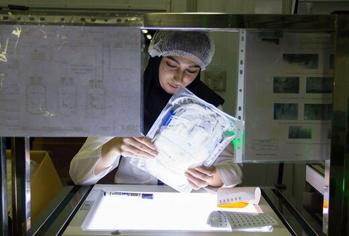 کارخانه ای که جدیدترین فناوری جهان در تولید کیسه های خون دارد +عکس