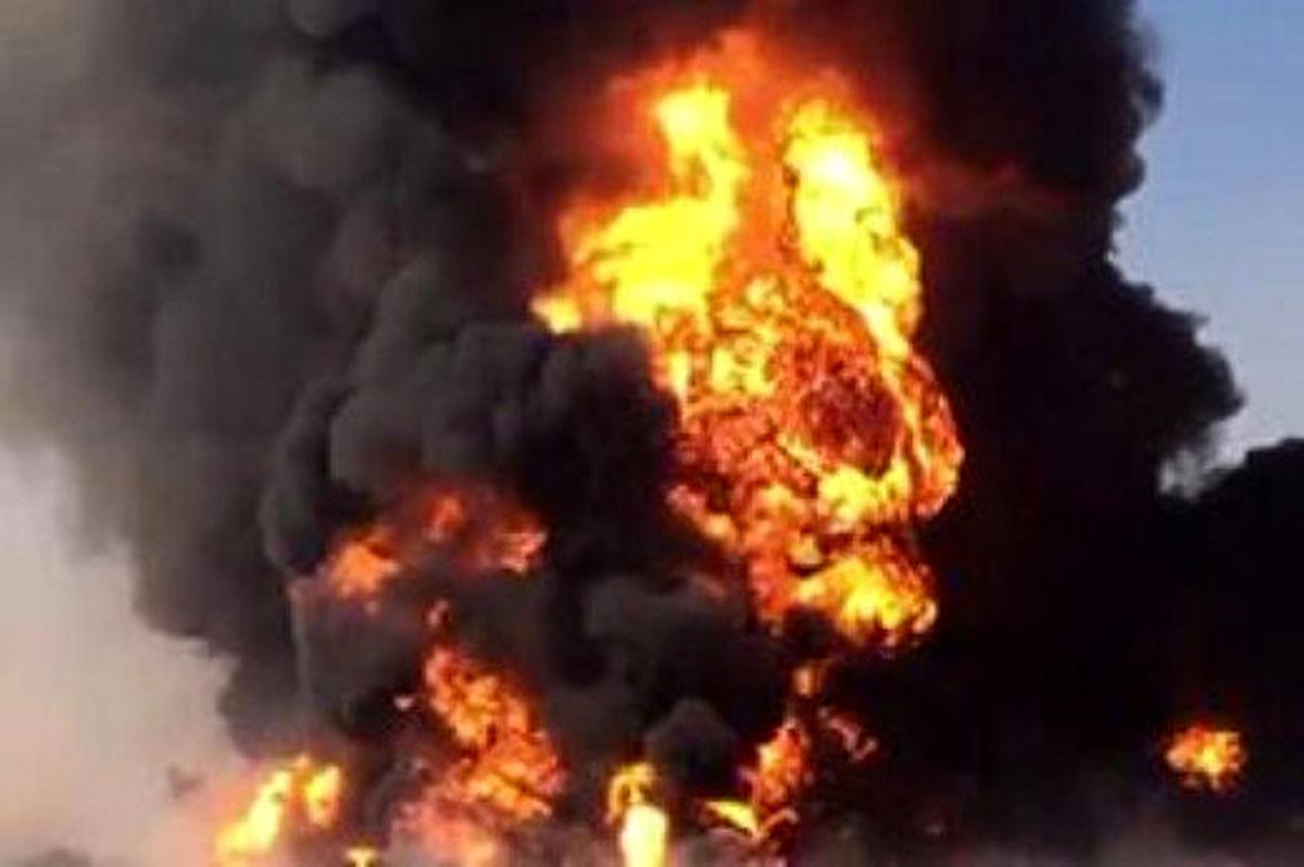 آتش سوزی بزرگ در بیمارستان دی تهران!فیلم