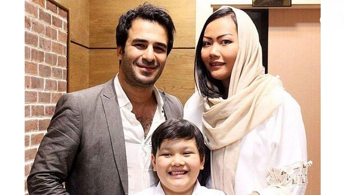 عکس باورنکردنی از کودکی یوسف تیموری؛طلاق یوسف تیموری و همسرش