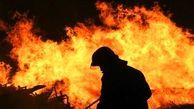 آتش سوزی هولناک دنا در پمپ بنزین
